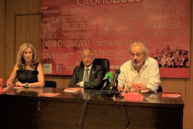 Los Secretos, Sergio Dalma, Pasión Vega y Sara Baras este otoño en el Teatro de Roquetas de Mar