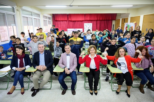 'Héroes en casa' aprenden en el colegio a reaccionar ante un ictus
