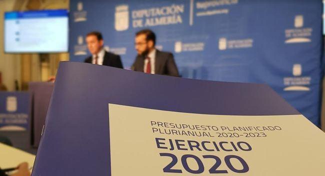 El presidente de la Diputación espera 'buena fe' de la oposición tras hacer un presupuesto 'dialogado'