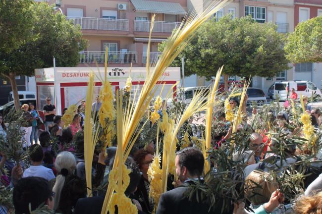 Hasta Cuatro Procesiones Se Celebran El Domingo De Ramos En El Municipio De Vícar