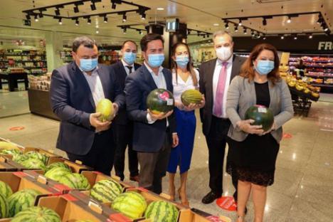 Desde El Ejido la Junta promociona el producto andaluz