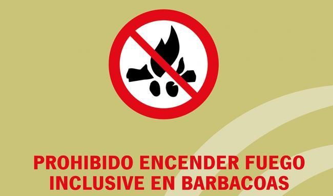 La Junta prohíbe el uso del fuego en los espacios forestales