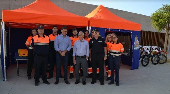 El Ayuntamiento de Roquetas invierte 27.000 euros en material de Protección Civil