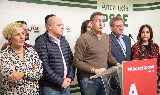 Sánchez Teruel advierte que es 'malo para Almeria y la democracia' el ascenso de Vox