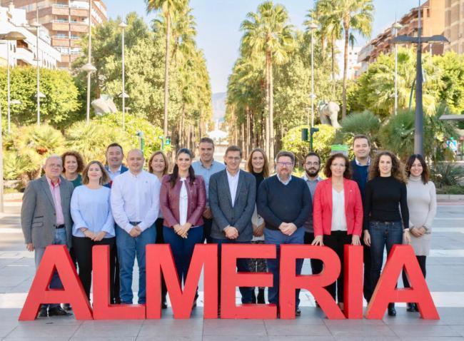 El PSOE de Almería califica la noche electoral como 'muy triste'