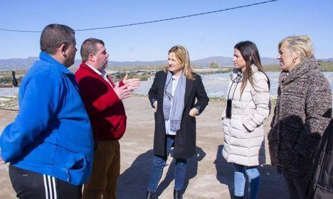 El PSOE traslada a agricultores de Níjar el apoyo del Gobierno por Gloria
