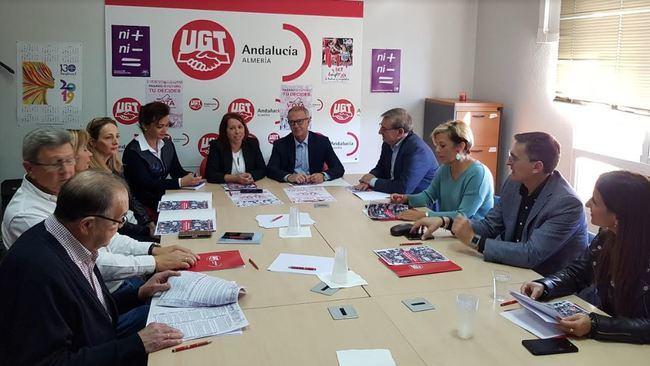 El PSOE traslada a UGT su compromiso con una nueva subida del salario mínimo