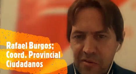 Burgos: 'El votante de Ciudadanos está retomando la ilusión'