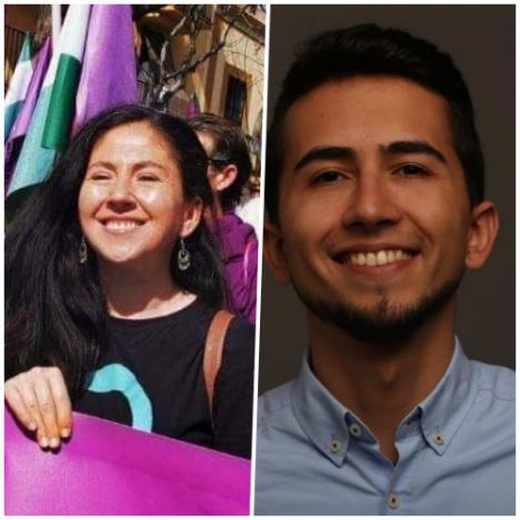 Dos almerienses en la nueva dirección estatal de Podemos