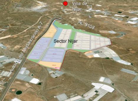 La Junta desbloquea el área logística de Níjar