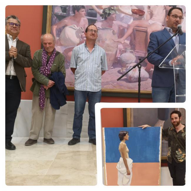 Nacho Vergara elegido por Antonio López y Andrés García Ibáñez como el mejro del VIII Curso de Realismo