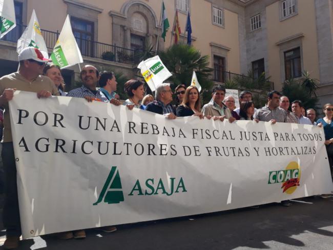 """Ciudadanos exige una reducción fiscal fiscal """"justa"""" para el campo almeriense"""