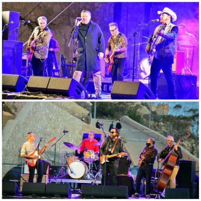 Los Rebeldes desgranan 40 años de rock and roll en el Mesón Gitano