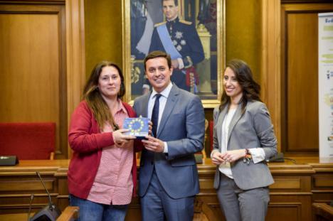 Diputación forma al alumnado del IES Sabinar en materia de Movilidad Europea