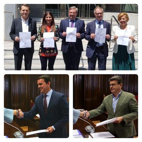 Ni Hernando (PP), ni Villegas (Cs) ni De Meer (Vox) se molestan en recoger su acreditación parlamentaria
