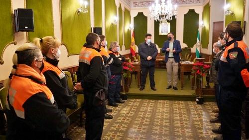 El Ayuntamiento de Berja reconoce la labor de la Agrupación de Protección Civil