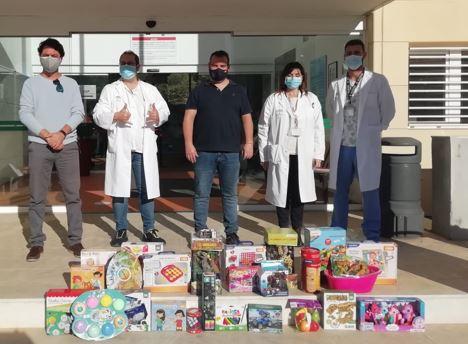 Donaciones de alimentos y juguetes del Centro Comercial Torrecárdenas