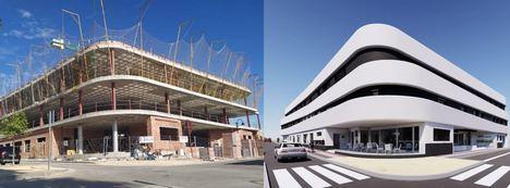La estructura de la nueva residencia de mayores de Vera ya está levantada