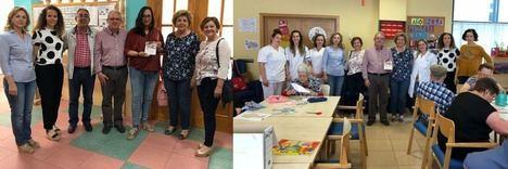 Bonilla visita las residencias y el Centro de Día para agradecer su aportación al Encuentro Saludable de Mayores