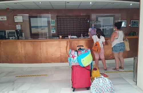 La Residencia de Tiempo Libre de Aguadulce recibe a los primeros turistas