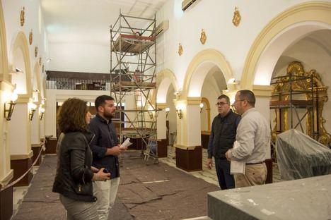 Carboneras inicia obras de restauración de la iglesia de San Antonio de Padua