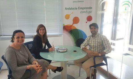 Andalucía Emprende y la Asociación de Empresarios y Comerciantes de Huércal de Almería inician líneas de colaboración