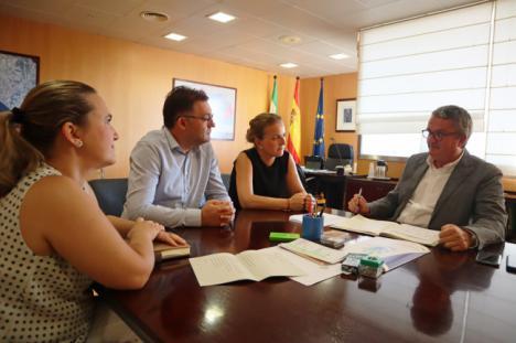 El alcalde de Berja solicita la construcción de un nuevo Centro de Salud