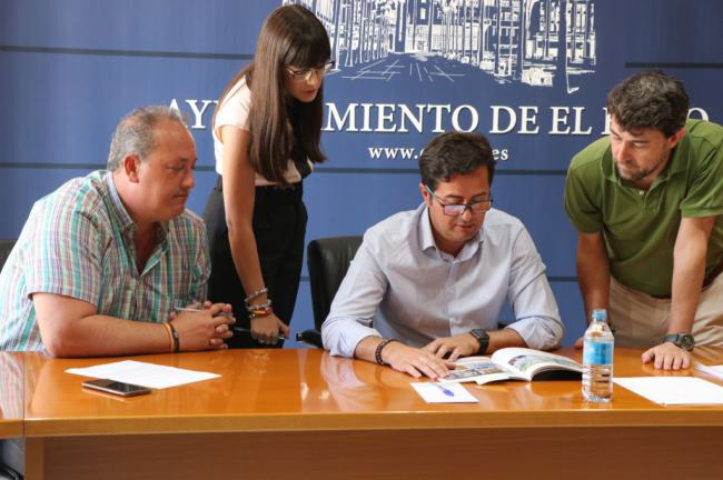 El gobierno local ejidense impulsa el aprovechamiento turístico del Yacimiento Ciavieja