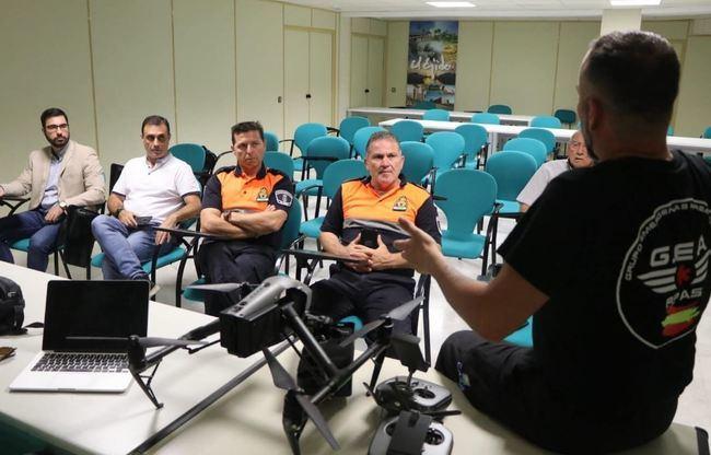 Ayuntamiento de El Ejido se prepara para usar drones