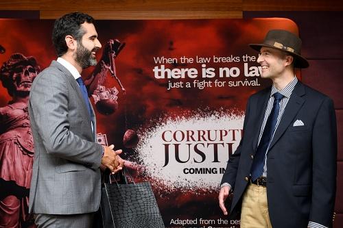 Almería acoge el rodaje de la nueva serie 'Corruption of Justice'