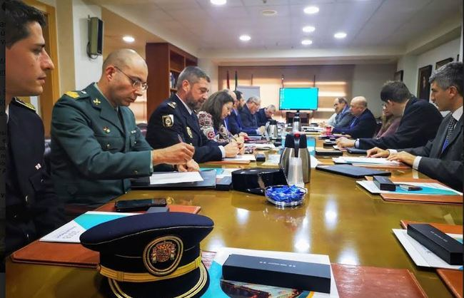 El Puerto de Almería supera la inspección de seguridad de la Comisión Europea