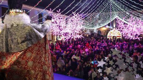 La Cabalgata de Reyes de Berja emociona a miles de personas