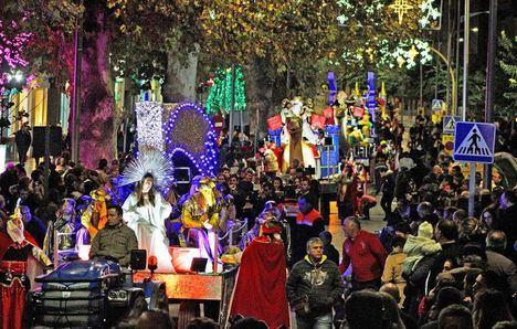 Los Reyes Magos llegarán este domingo a Berja