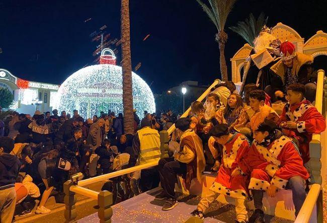 Los Reyes Magos Se Triplican En Vícar
