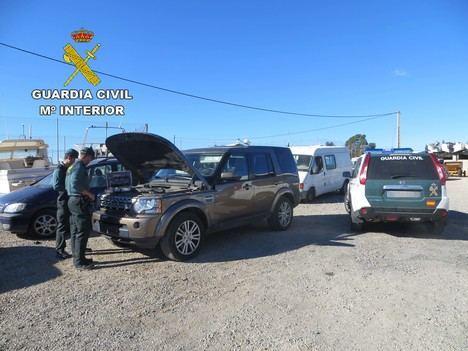 Detenido por robos en coches en un solo mes en Campohermoso