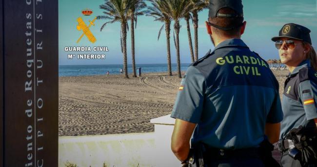 Detenido por varios hurtos, robos y lesiones graves con arma blanca en Roquetas de Mar