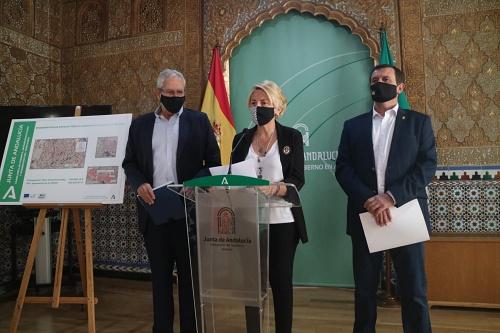 La Junta concede 673.443 euros a Vera y Abla para regenerar espacios públicos