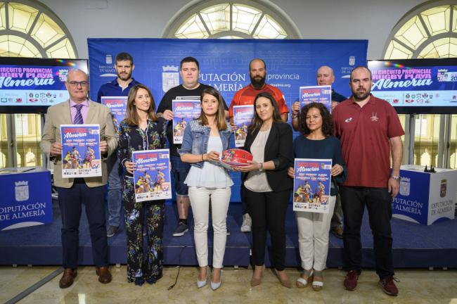 Diputación amplia el 'Circuito Provincial de Rugby Playa' a seis municipios
