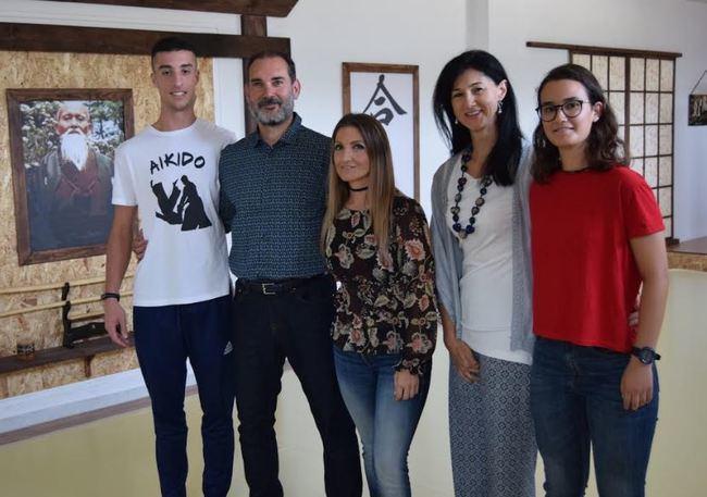 El aikido muestra 'continente y contenido' en la Universidad de Almería