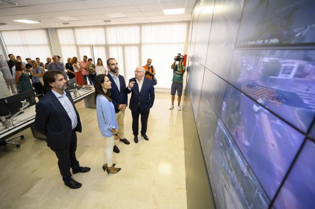 Almería capital estrena una Sala de Control de Tráfico