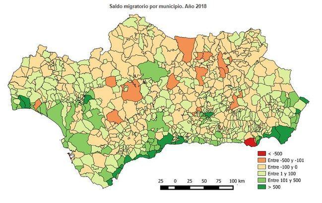 El Ejido es el segundo municipio andaluz con mayor saldo migratorio negativo