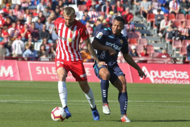 3-0: El Almería se desahoga con el Nástic