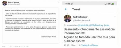 Las mentiras de Samper (Cs) sobre el caso Bla Bla Car provocan su dimisión
