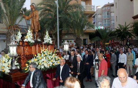 Misa y procesión en honor al patrón de El Ejido, San Isidro Labrador