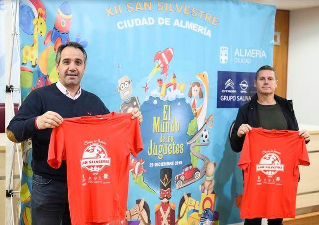 La XII San Silvestre de Almería reunirá 2.300 'juguetes'