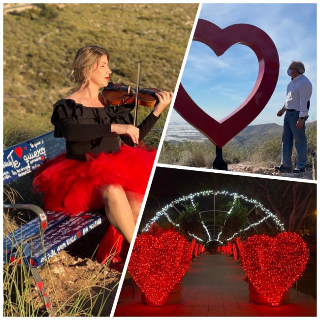 Vícar se Engalana para celebrar San Valentín