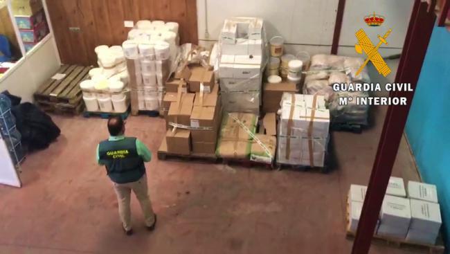 Intervenidos 22,5 toneladas de alimentos en mal estado