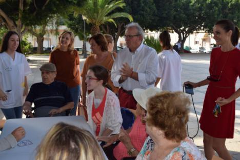 Vícar Despide Su Semana Del Mayor Con Buñuelada Y Gerontogimnasia