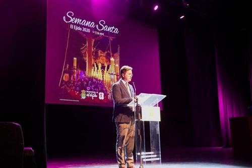 Concierto de 'Sentir de un Saetero' para presentar la Semana Santa de El Ejido 2020