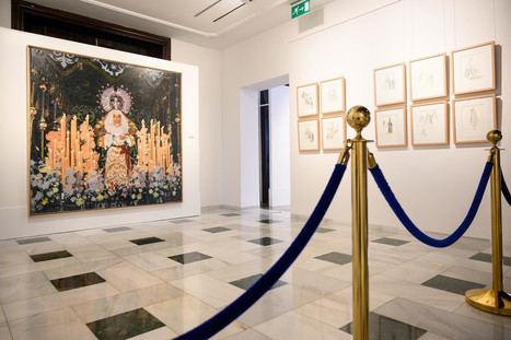 'Imagénes de la Semana Santa de Almería', de Andrés García Ibáñez, en el Museo de Arte 'Doña Pakyta'